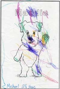 Coloring page of Maddie by Michael